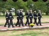 Honor Guard Approaches Circle of Honor